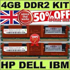 NEXT DAY | 4GB PC2-5300F Server RAM (2 x 2GB) DDR2-667MHz FULLY BUFFERED FB-DIMM
