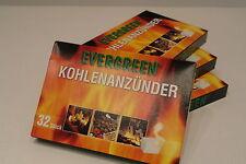 Grillanzünder Kohlenanzünder 32 Stück Pack schnell einfach anbrennen Feuer NEU
