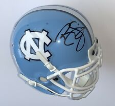Ryan Sims signed Tarheels mini helmet north carolina football schutt ncaa