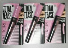 Lot Of 3 Covergirl Total Tease Mascara 805 Black 0.21oz Each New In Package