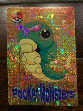 Rare Japanese Pokemon *Pocket Monsters* *Caterpie* Vending Holo Foil Stickers