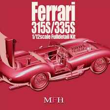 Model Factory Hiro 1/12 Full Detail kit - Ferrari 315S/335S Ver.B: 1957 LM 335S