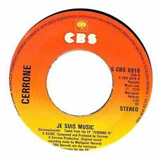 "Cerrone - Je Suis Music - 7"" Record Single"