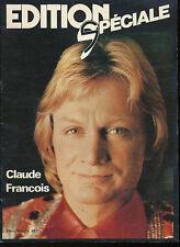 EDITION SPECIALE 1 (1978) CLAUDE FRANCOIS MICHEL SARDOU