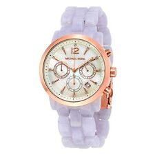Michael Kors Watch Women's MK6312 Audrina Mother of Pearl Lavender New Boxed