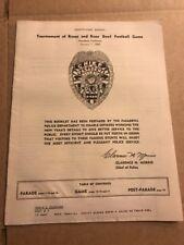 Tournament Of Roses Parade Rose Bowl Football Game 1960 Pasadena Police Handout