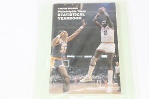 Lot of 5 Philadelphia 76ers NBA Media Guides See Description for Years