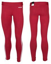 Adidas Essentials 3 Stripes Womens Long Training Leggings