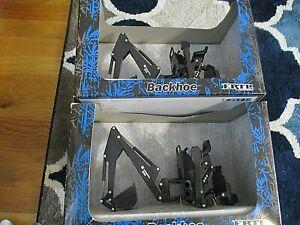 Ertl 1/16 509 Backhoe Bradco  PALADIN Light Construction LOT OF 2 NIB