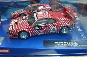 "Carrera Digital132 20030829 BMW M1 Procar ""BASF No.80"" 1980 ""Neu""(678)"