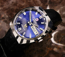 RADO GOLDEN HORSE DAY-DATE BLUE DIAL AUTOMATIC  MENS WRIST WATCH