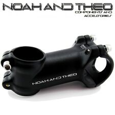 "Bicycle 70mm Stem 28.6mm or 1-1/8"" to 31.8mm Cycling Road Handlebar MTB BLACK"