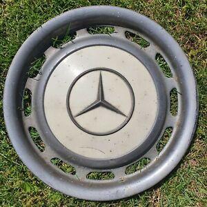 """1 Radkappe Chrom Creme 14"""" Zoll Mercedes W123 W114 W115 W116"""