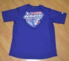 Utica Unicorns USPBL Minor League Baseball Logo Jersey T Shirt Large MI Detroit