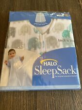 Halo Sleep Sack Fleece With Elephants Medium 6-12 Months