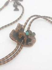 Vintage Bolo Donkey Tie with Turquoise