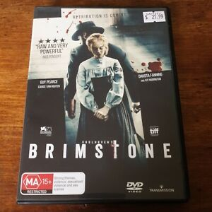 Brimstone DVD 2017 R4 Like New! FREE POST