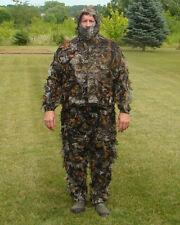 3-D Leafy Camoflauge Deer / Turkey Hunting Ghillie Suit  3 pcs set Camo  XL/2X