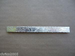 Silberbeschläge für Lederwaren *neu* Seitenbeschläge ohne Rand für Trensen 305-6