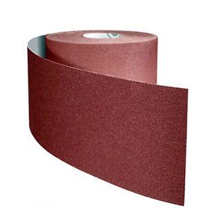 Abrasive oxide aluminum 10m roll sanding paper 80 Grit AA80