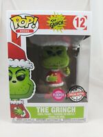 Books Funko Pop - The Grinch (Flocked) - Dr. Seuss - No. 12