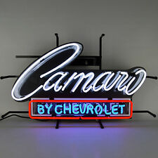 Camaro By Chevrolet Neon Sign - GM - Chevy - Z/28 - RS - SS