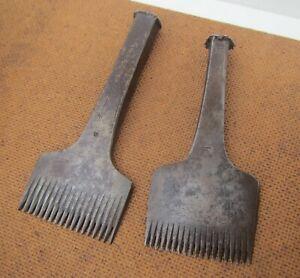 Vintage Leatherworking Tools - Thomas Adams No.9 + F&J Dixon No.10