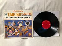 Dave Brubeck Time Out LP Vinyl Columbia ‎Records Two-Eye CS 8192 EX/VG+ Shrink
