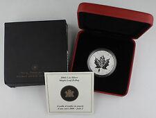 Canada 2004 1 Oz Silver Maple Coin with Privy Mark D-Day World War II +BOX & COA