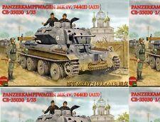 Bronco 1/35 Panzerkampfwagen Mk IV 744(E) (A13) Tank #35030