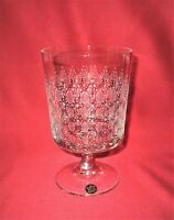 Rosenthal Romanze Björn Wiinblad - Pokal auf Fuß, Glas 450 ml. Bleikristall 24%
