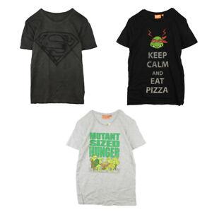 Clearance Mens T Shirts - Teenage Mutant Ninja Turtles & Superman