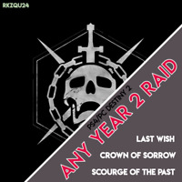 Destiny 2 - Year 2 Raids (Last Wish, SoTP, Crown of Sorrow) - PS4