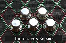 Vox Amplifier Knobs, Reproduction of Classics, Chromed Brass CNC, FREE SHIPPING!