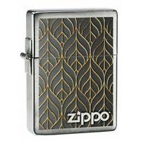 ZIPPO - BENZIN - FEUERZEUG - GOLDEN LEAF - 60005042 -