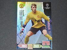 DE GEA MANCHESTER UNITED UEFA PANINI CARD FOOTBALL CHAMPIONS LEAGUE 2011 2012