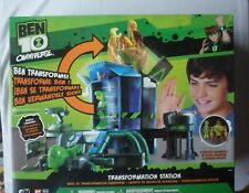 Ben 10 Transforming Station with 2 Exclusive Figures by Ban Dai in 2013