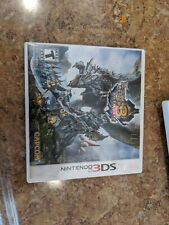 Monster Hunter 3 Ultimate (3DS) with case and manual.