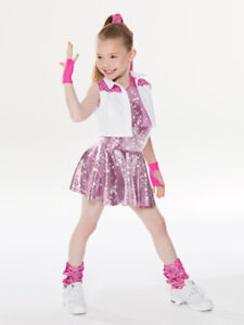 Revolution RC18639 Holla at the DJ SC 6/6X Dance Costume Pink Jazz/Hip Hop NEW