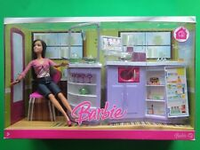 New Barbie My House Teresa Kitchen and Doll 2007