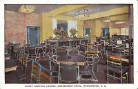 Washington, D.C. -  Ambassador Hotel - Hi-Hat Cocktail Lounge - ADVERTISING
