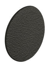 Black - Self Adhesive Cover Caps Stick on Furniture Sticker Screw Hole 18mm