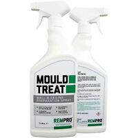 Rempro 1Ltr Mould Treat Wall & Ceiling Preparation Treatment Spray - Mould Ki...