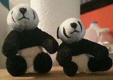 "ONLY HEARTS PETS ""MAMA AND BABY BAMBOO  PANDA BEARS"" ONLY HEARTS CLUB RARE"