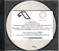 ANDREW BAYER In My Last Life 2018 UK 8-trk promo test CD Above & Beyond