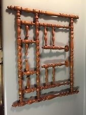 Old Spindle Wall Hanging Coat And Hat Rack