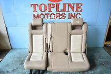 03 04 05 06 FORD EXPEDITION 3RD THIRD ROW REAR LEATHER SEAT OEM