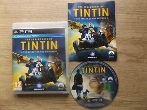 THE ADVENTURES OF TINTIN-THE SECRET OF THE UNICORN PS3 V.G.C. FAST POST