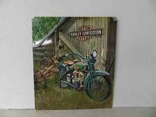 OEM Harley-Davidson 1923 F-Head Twin Metal Tin Sign Garage Shop Bar