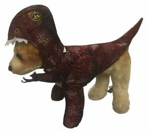 Raptor Dinosaur Dog Costume - XS - Costume w/ Arms/Tail, Headpiece - Foam - NWT